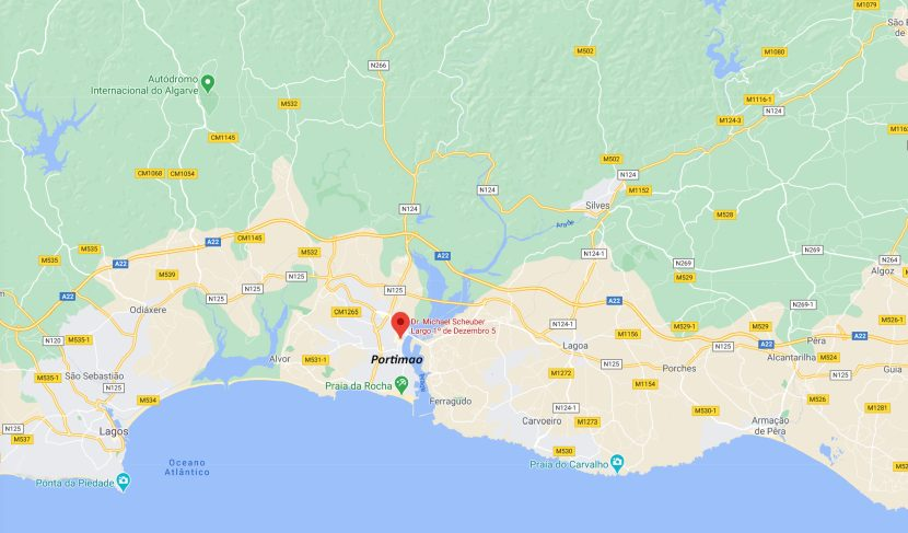 Mapa, como chegar à clínica